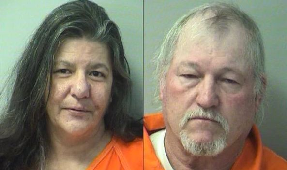 Suzanne Hurlvert, 51, and Carl Owen Smith, 66, each face felony charges following a domestic dispute.