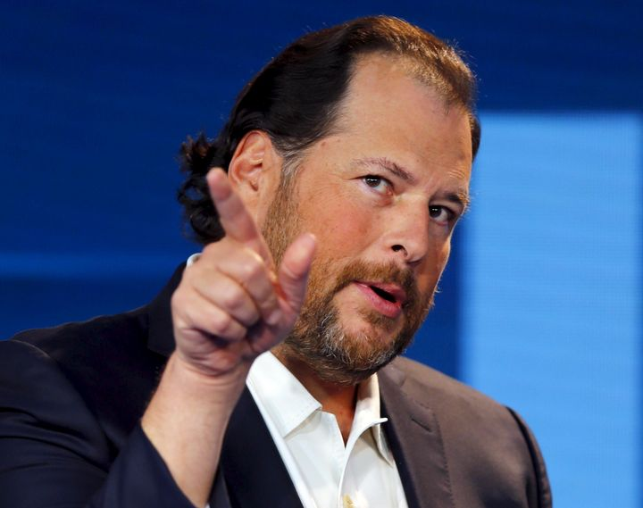 Marc Benioff is coming for you next, North Carolina.