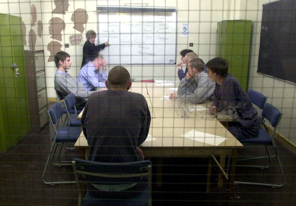 Prisoners at the Glen Parva MHP Young Offenders Institution in Leicestershire where Amad was in