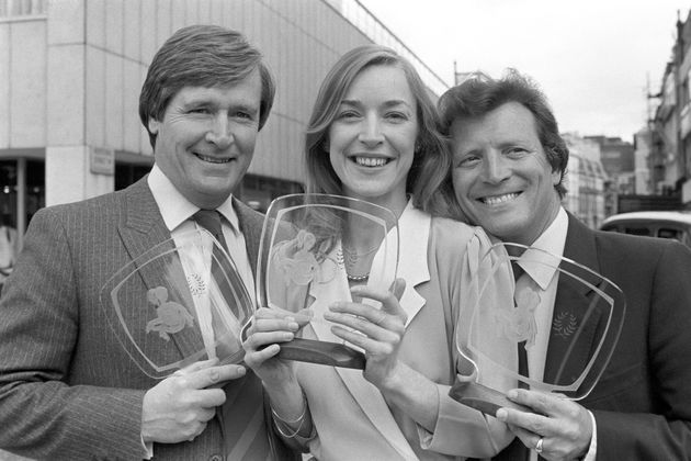 Anne Kirkbride and Bill Roache during the early stages of their on-screen partnership, with 'Corrie'...