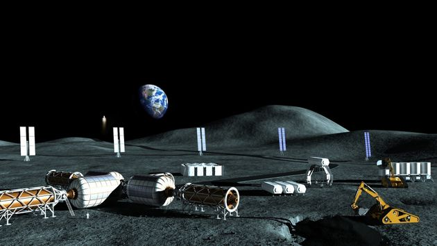 Moon Base Could Be Operational By 2022 And Cost Just $10 Billion Dollars, According To