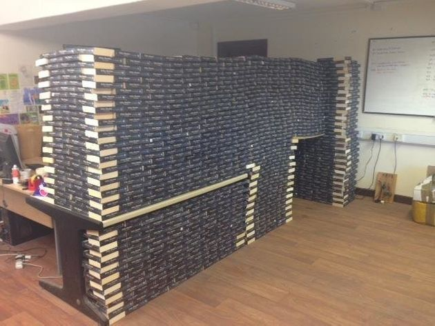 Bookstore Finds Novel Use For All Its '50 Shades Of Grey'