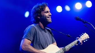 LOS ANGELES, CA - AUGUST 28:  Musician Jack Johnson performs onstage at The Greek Theatre on August 28, 2014 in Los Angeles, California.  (Photo by Paul R. Giunta/FilmMagic)