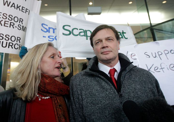 Andrew Wakefield, a former U.K. doctor and disgraced autism researcher, in a 2010 photo.