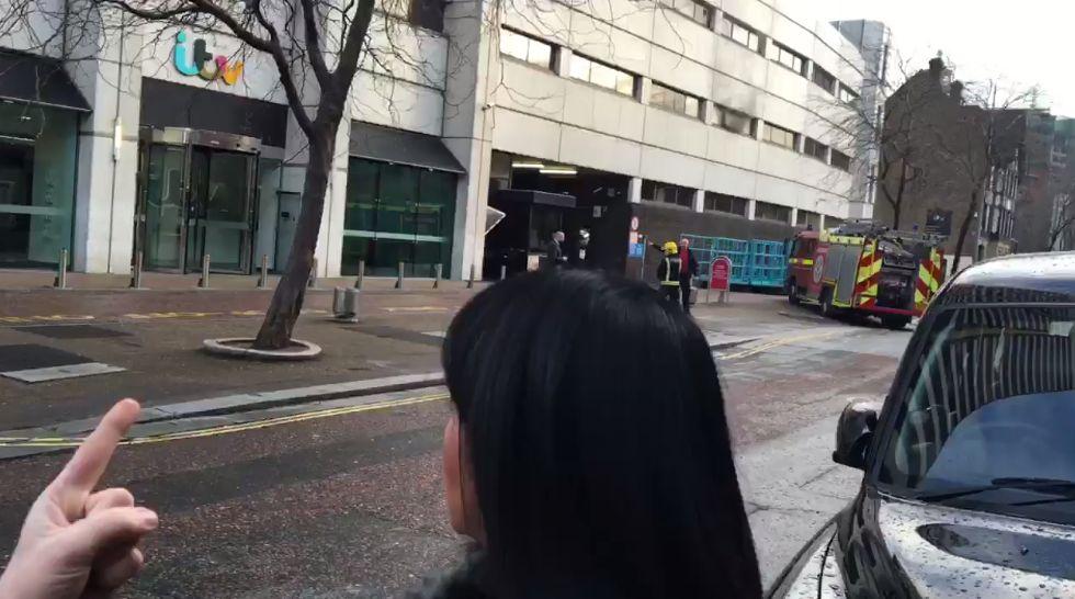 Chaos At 'Good Morning Britain' As Studio Is
