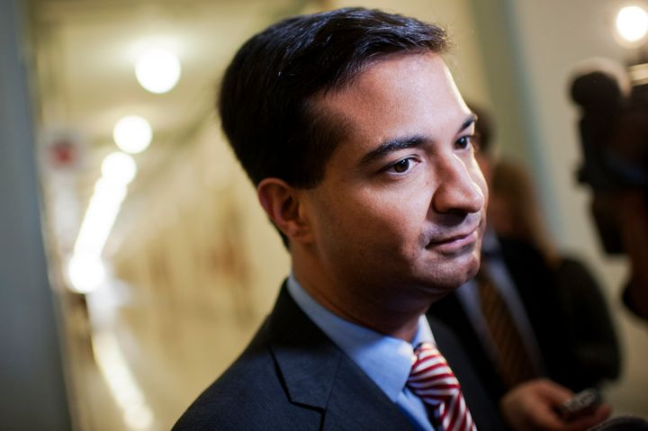 Rep. Carlos Curbelo says he'd vote for anyone for president over Donald Trump. Party lines be damned.