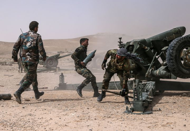 The recapture of Palmyra would mark the biggest single gain for President Bashar al-Assad since Russia intervened in Septembe