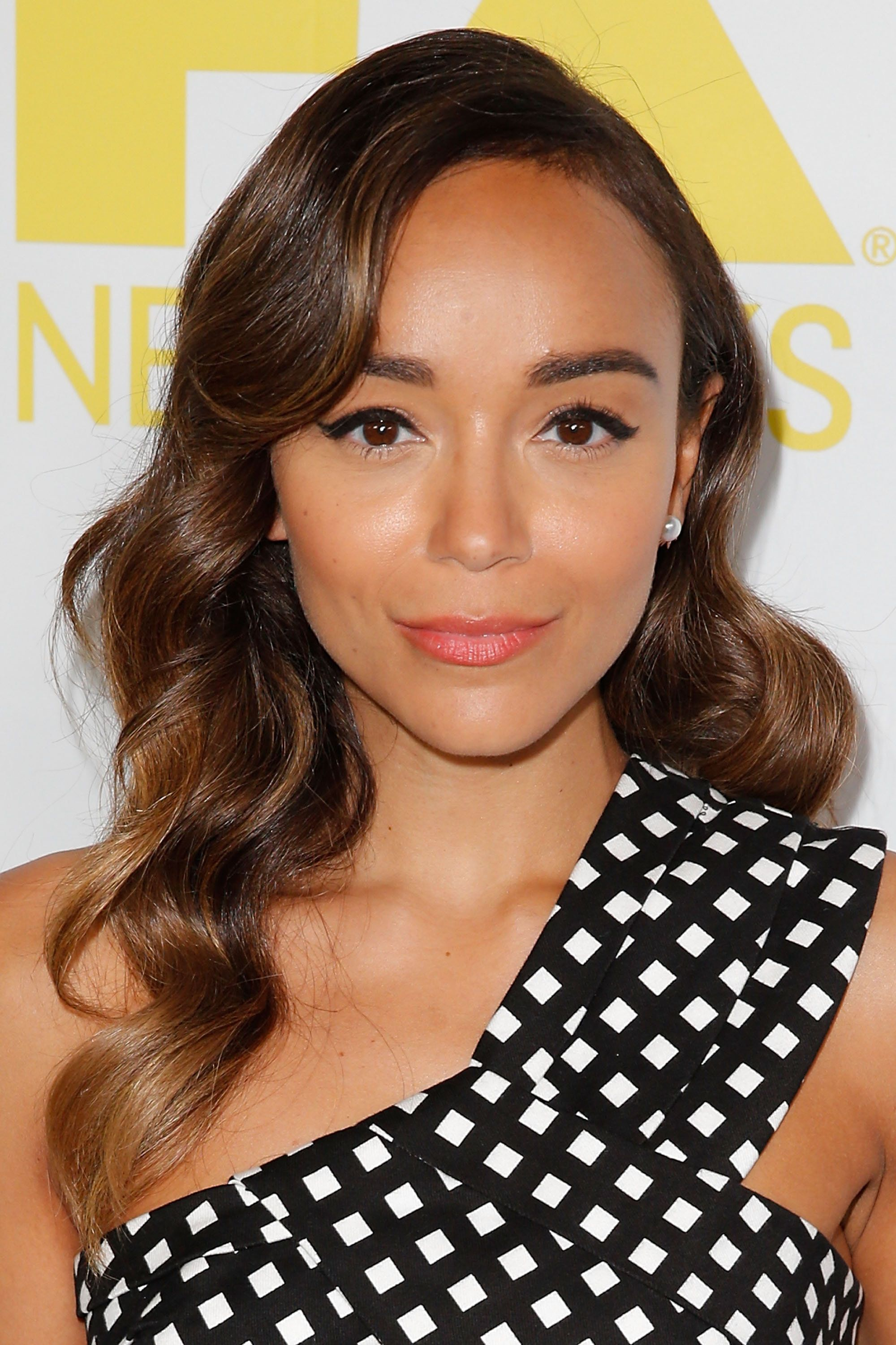 SAN DIEGO, CA - JULY 10:  Ashley Madekwe attends the Comic-Con International 2015 - 20th Century Fox Party at Andaz Hotel on July 10, 2015 in San Diego, California.  (Photo by Joe Scarnici/FilmMagic)