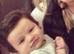 Face It, This Baby Has Better Hair Than You