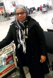 "Weah was at Brussels Airport, preparing to travel&nbsp;to Rhode Island and attend her stepfather's <a href=""http://www.nytime"