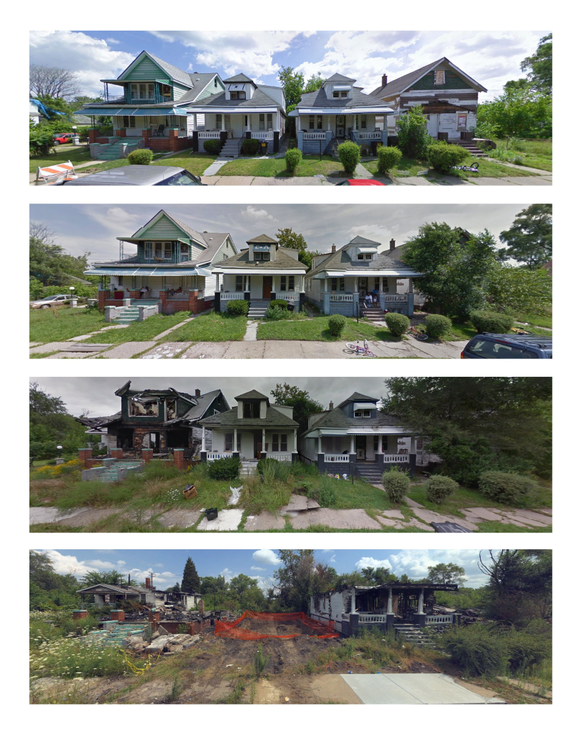This Mackay Street block isshown in Google and Bing screenshotsfrom September 2013 and August 2014. Alex Alsup us