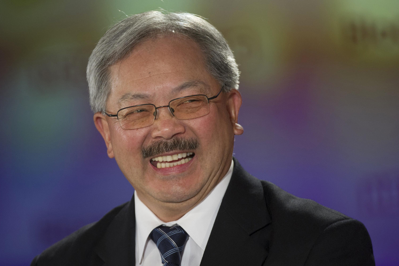 San Francisco Mayor Ed Lee (D) sent a strong message to North Carolina on Friday.