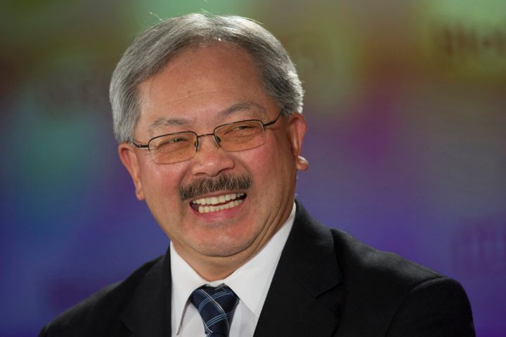 San Francisco Mayor Ed Lee (D) sent a strong message to North Carolina on Friday.