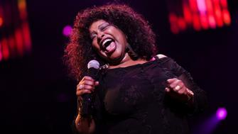 U.S. singer Chaka Khan performs onstage during the 45th Montreux Jazz Festival in Montreux July 7, 2011. Over 350 artists and groups will perform on the two main stages and at the ten free venues during the sixteen-day long festival.  REUTERS/Valentin Flauraud (SWITZERLAND - Tags: ENTERTAINMENT)