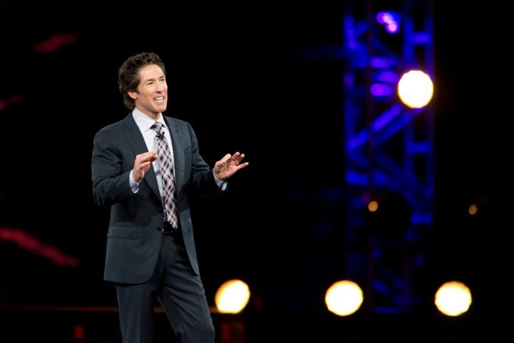 Osteen says he preaches differently than his father did, and was able to settle into his unique style with encouragement from