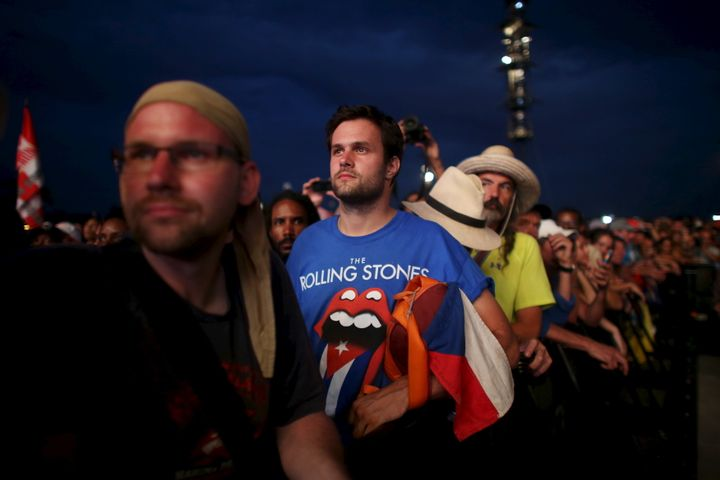 The Stones formed in London in 1962, three years after Fidel Castro's bearded rebels toppled a pro-American government.