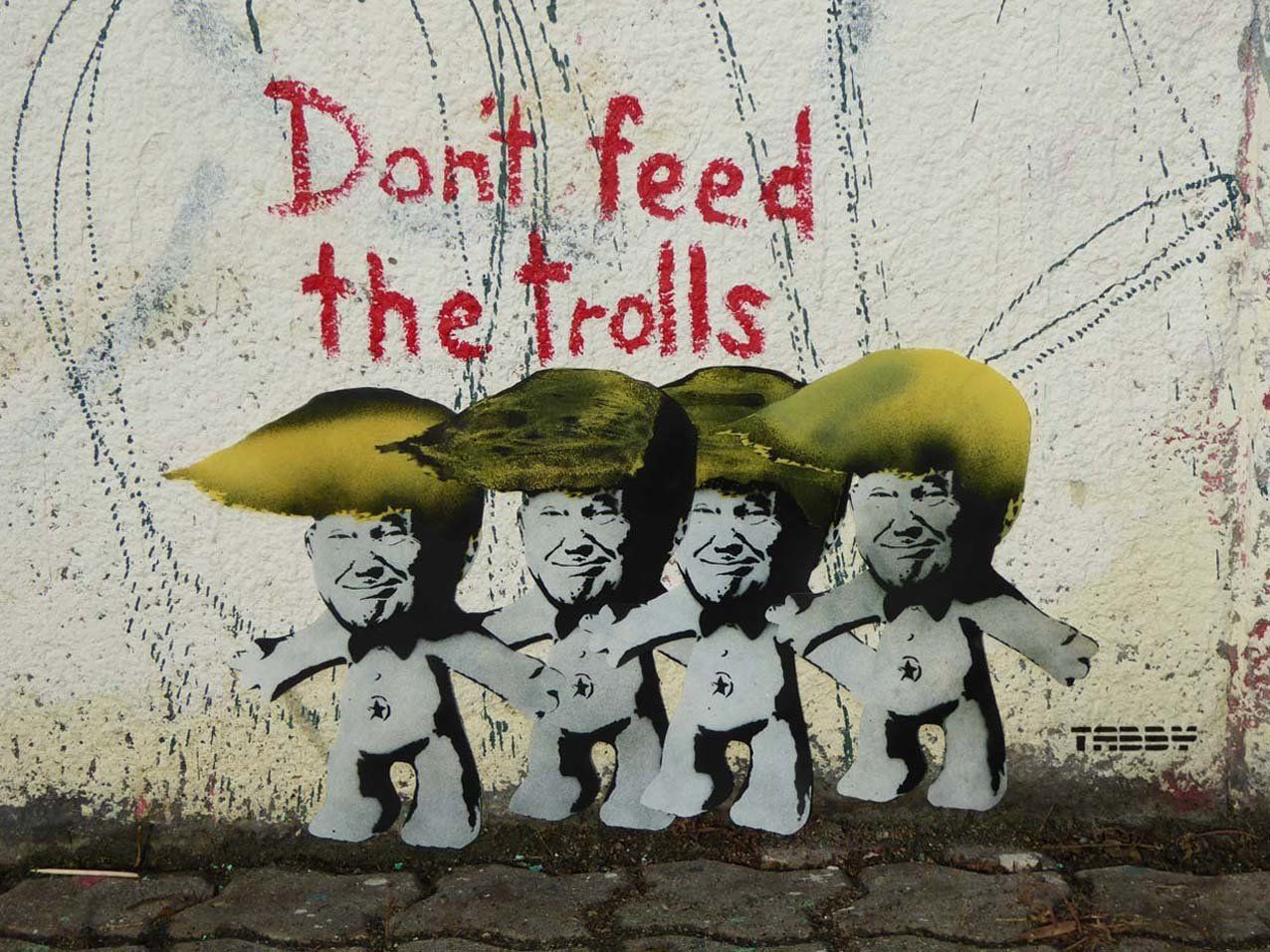 "<a href=""https://twitter.com/TABBYthis"" target=""_blank"">TABBY</a> says ""Don't Feed The Trolls,"" also in Vienna, was crea"
