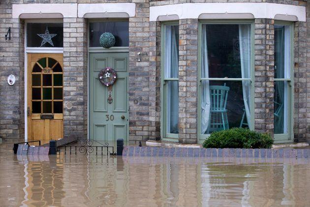 The River Foss in York burst its banks in December last