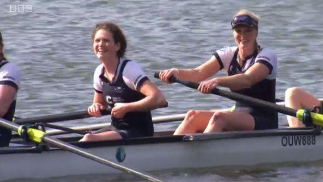 The winning Oxford women's