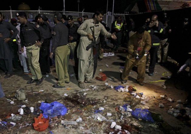 Deadly Bomb Blast Hits Public Park In Pakistan's