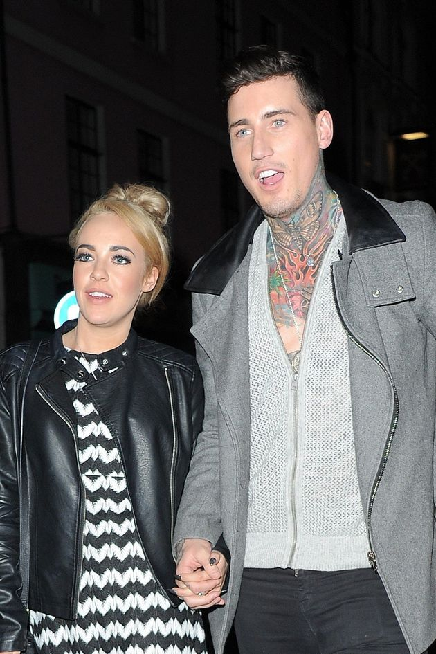 Stephanie Davis and Jeremy