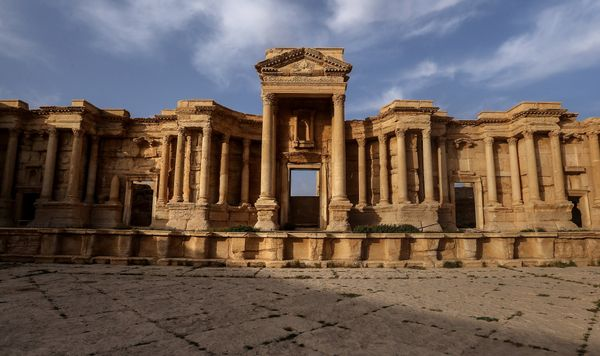 Islamic State militants reportedly staged executionsatthe Roman Theater.