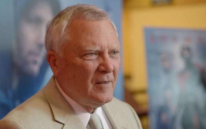 "Georgia Gov. Nathan Deal (R) attends a screening of ""Ant-Man"" at Regal Atlantic Station 18 in Atlanta, July 12, 2015."