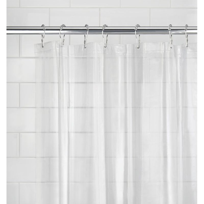 how often should you change your shower curtain liner