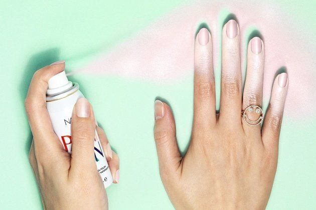 Spray-On Nail Polish Is Perfect For People Who Can't Paint Their Own