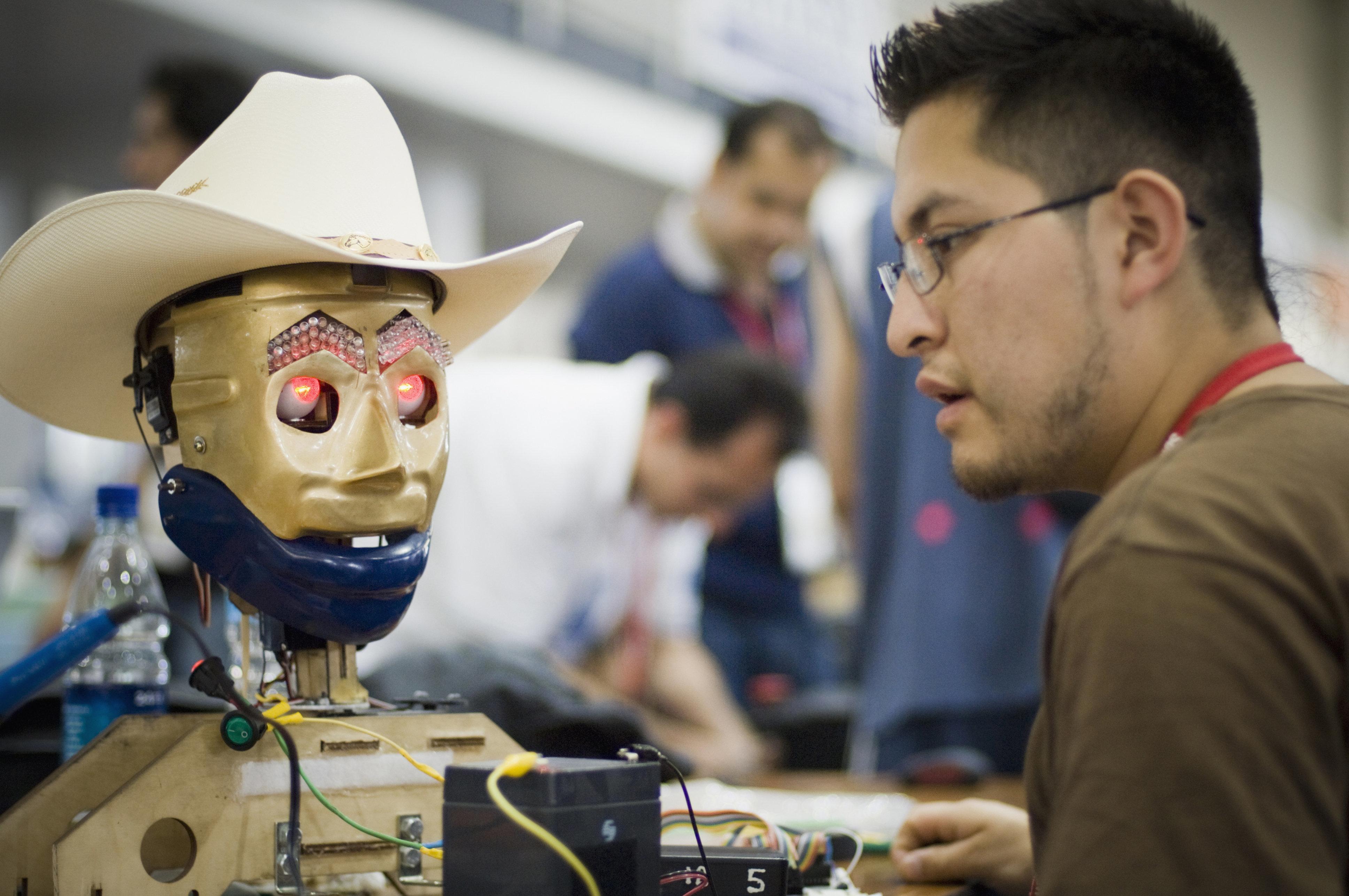 Robotics competition in Atlanta, Georgia.
