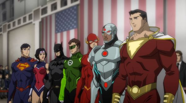 This is what we hope alive-action Justice League film willbe. We don't spend time with individual origin stories,
