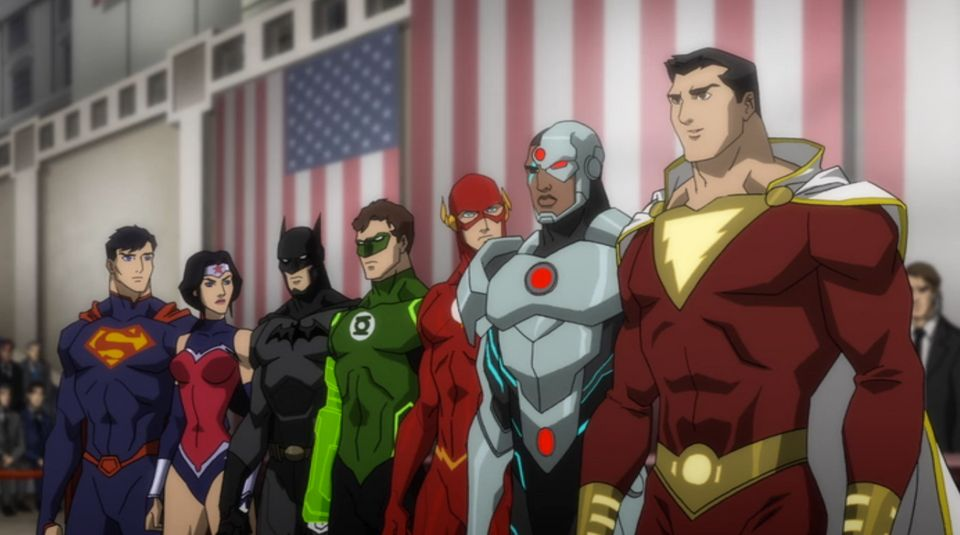 This is what we hope a live-action Justice League film will be. We don't spend time with individual origin stories,
