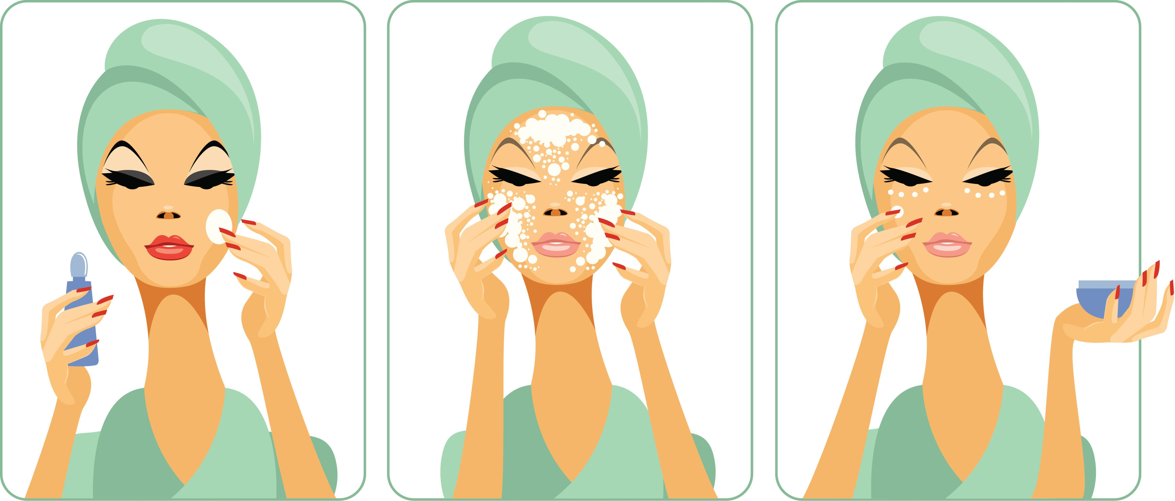 Be cautious of intense exfoliation in the springtime, as it can make your skin more sensitive to the upcoming increase in sun exposure.
