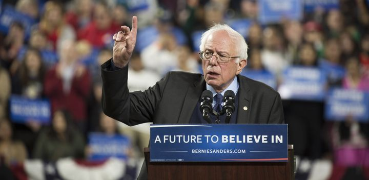 Sen. Bernie Sanders (I-Vt.) says he will stay in the Democratic presidential primary all the way to the convention this summe