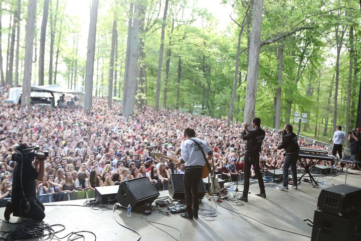 The Merriweather Post Pavillion in Columbia, Maryland, is home to the Sweetlife Music & Food Festival, which is also know
