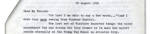Harper Lee Burns Donald Trump From Beyond The Grave In Letter Comparing Taj Mahal Casino To
