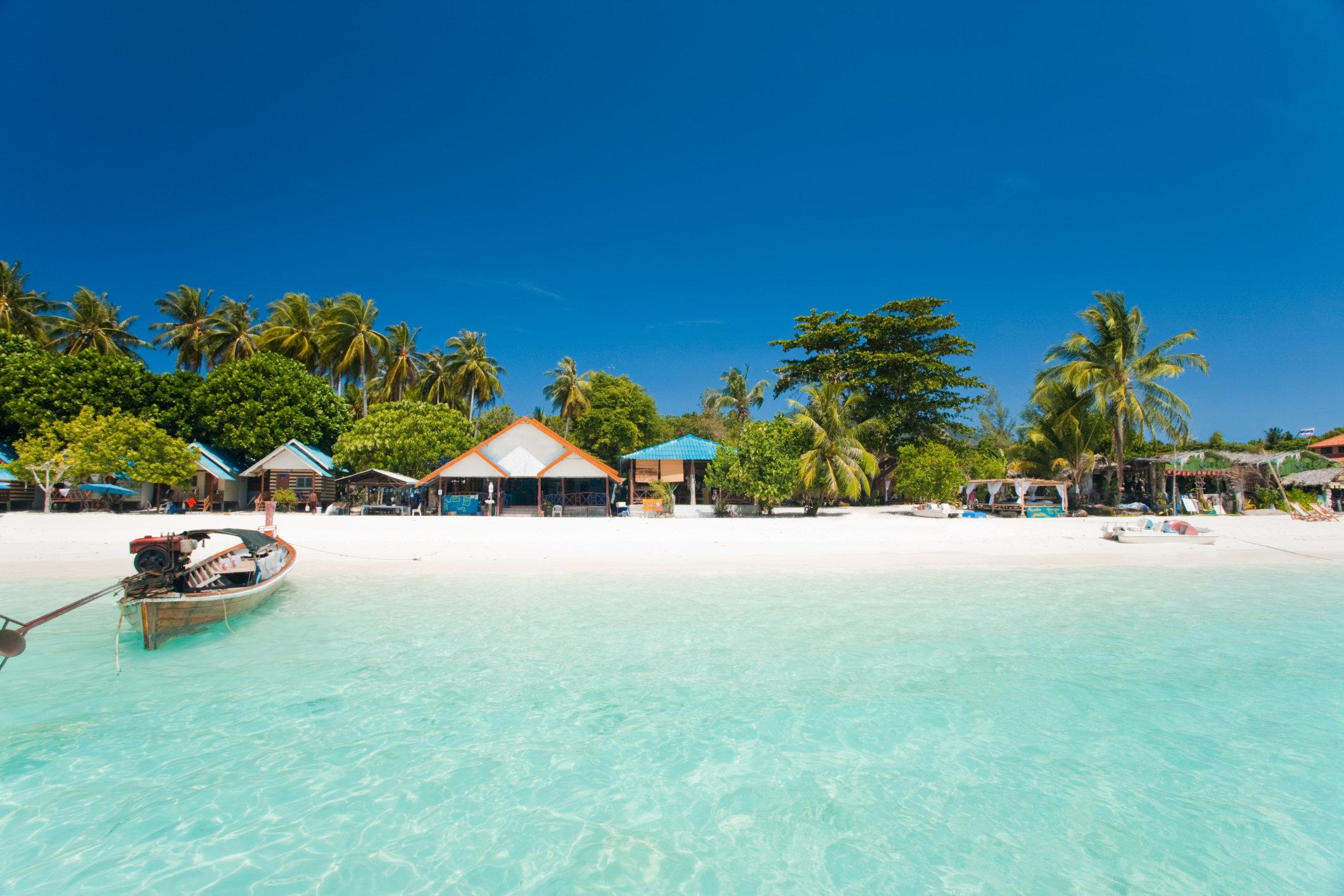 White Sand Beach Paradise Ko Lipe