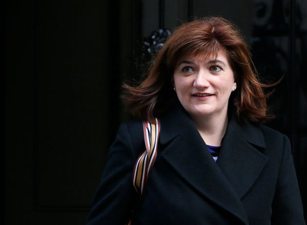 Britain's Secretary of State for Education Nicky Morgan leaves 10 Downing Street in central London, March...