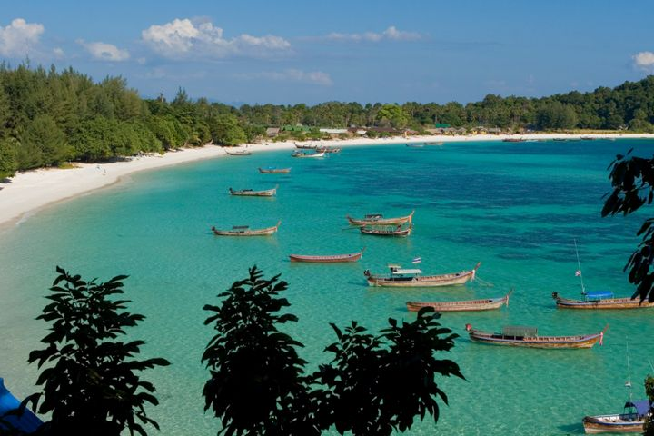 Pattaya Beach is a crescent of white sand perfection.