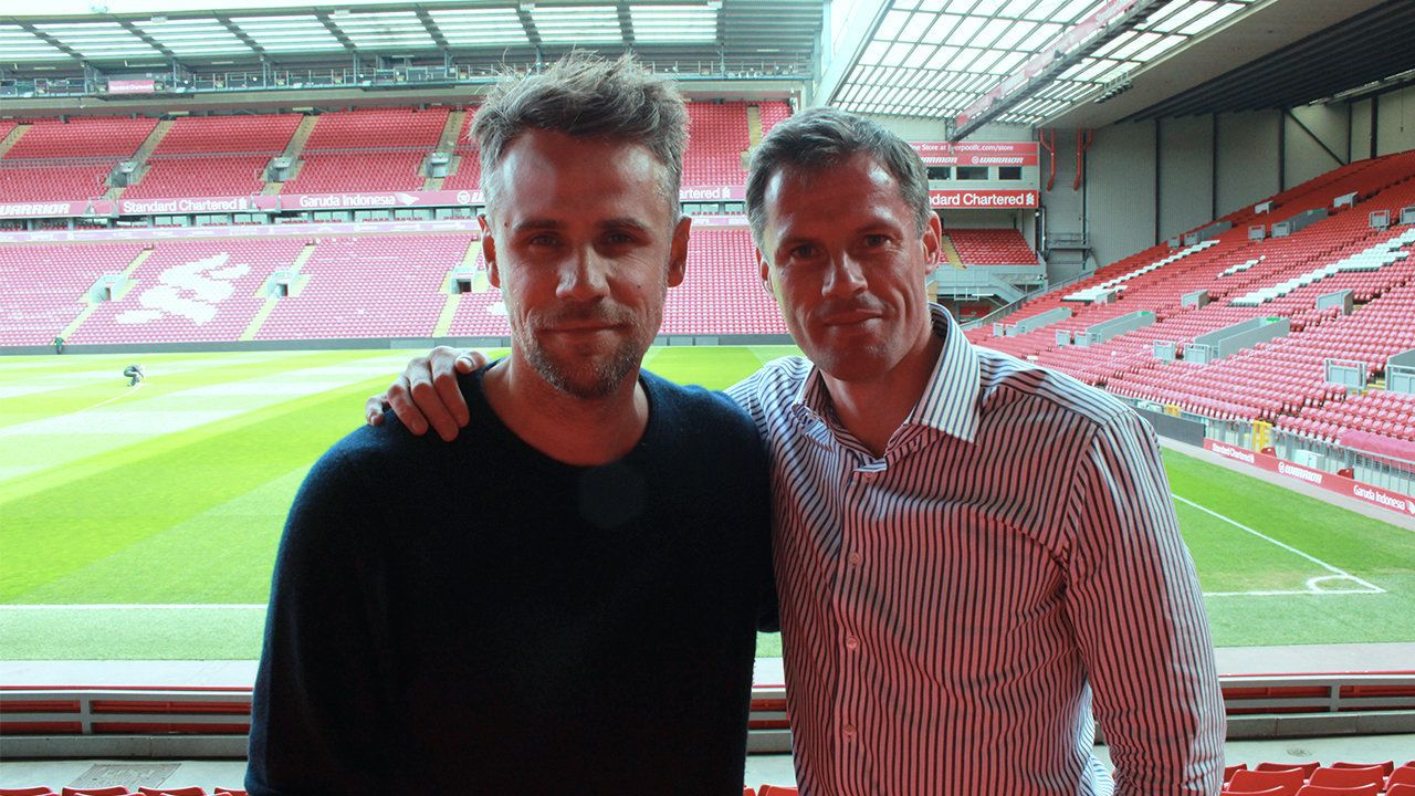 '30 Something With Richard Bacon': Jamie Carragher On Football After