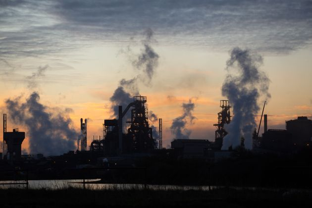 The Tata steelworks in Port Talbot,
