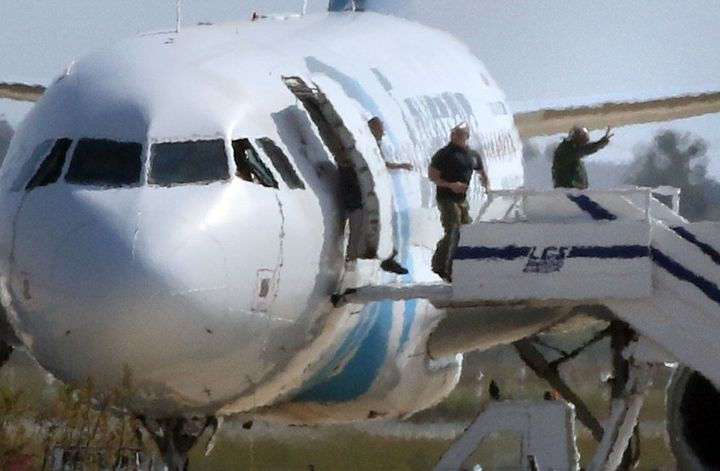 "Cypriot foreign ministry official Alexandros Zenon said the suspect was ""unstable"" and Egyptian Civil Aviation Minister"