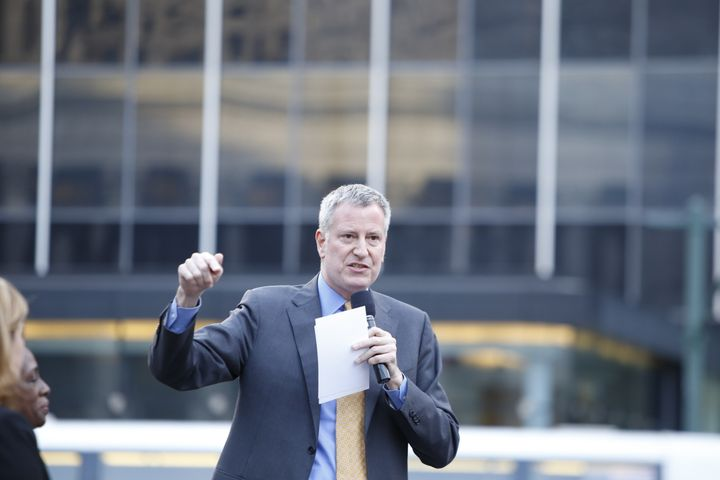 New York City Mayor Bill de Blasio (D) announced that New York would not be funding city employee travel to North Carolina in