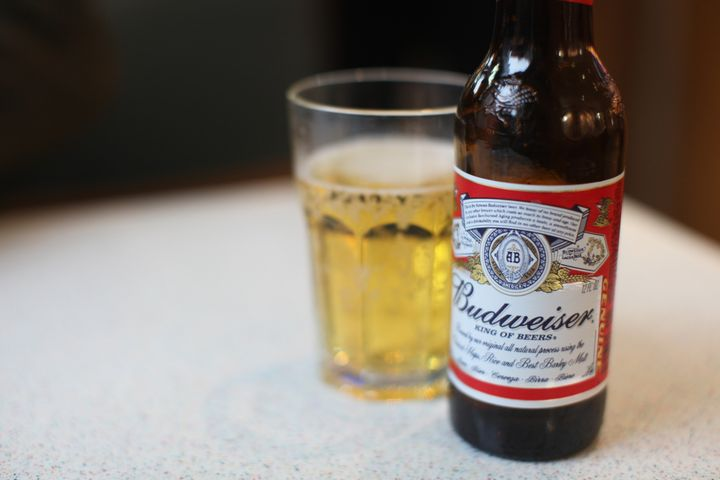 Budweiser = an all-American beer.