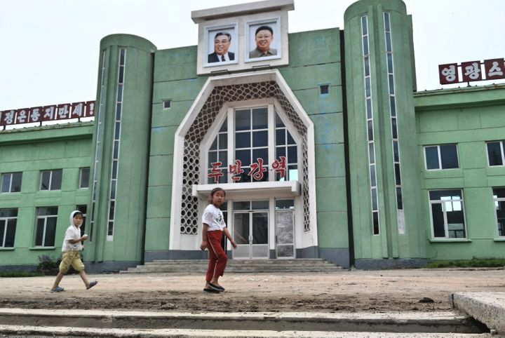 Chu deliberately used his cell phone instead of his professional camera to snap the photos to avoid getting in trouble with North Korean authorities, who would go through his device and delete photos.
