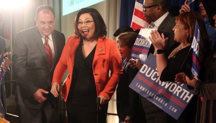 For the record, Rep. Duckworth is a Democrat.