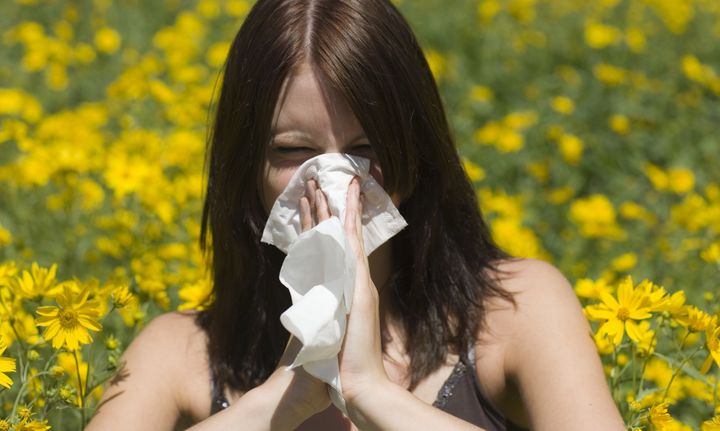 """Specific """"markers"""" on DNA can link your birthseason toyour risk of suffering from allergies, a new study finds.&n"""