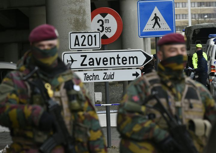 Belgian officials revised thenumber of people killed in last week's deadly attacks at Brussels Zaventem Airport and the