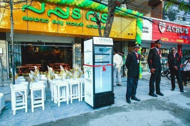 Eatery Puts Fridge On Street, So Patrons Can Leave Leftovers For Those In Need 56fae7241e00008e017119a6