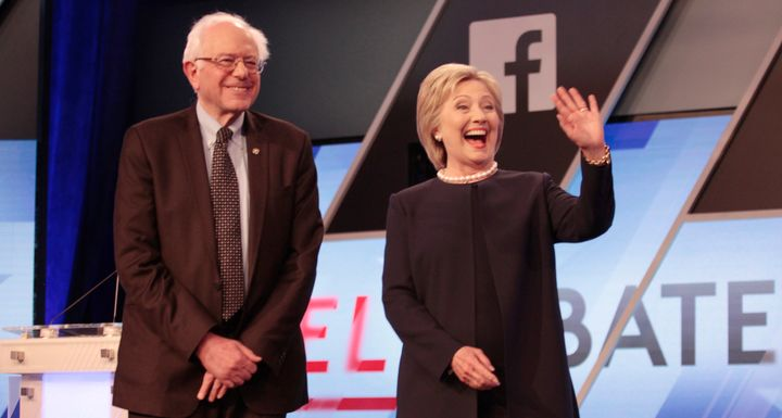 Democratic presidential candidates Hillary Clinton has improved her performance with small donors by emphasizing that she nee